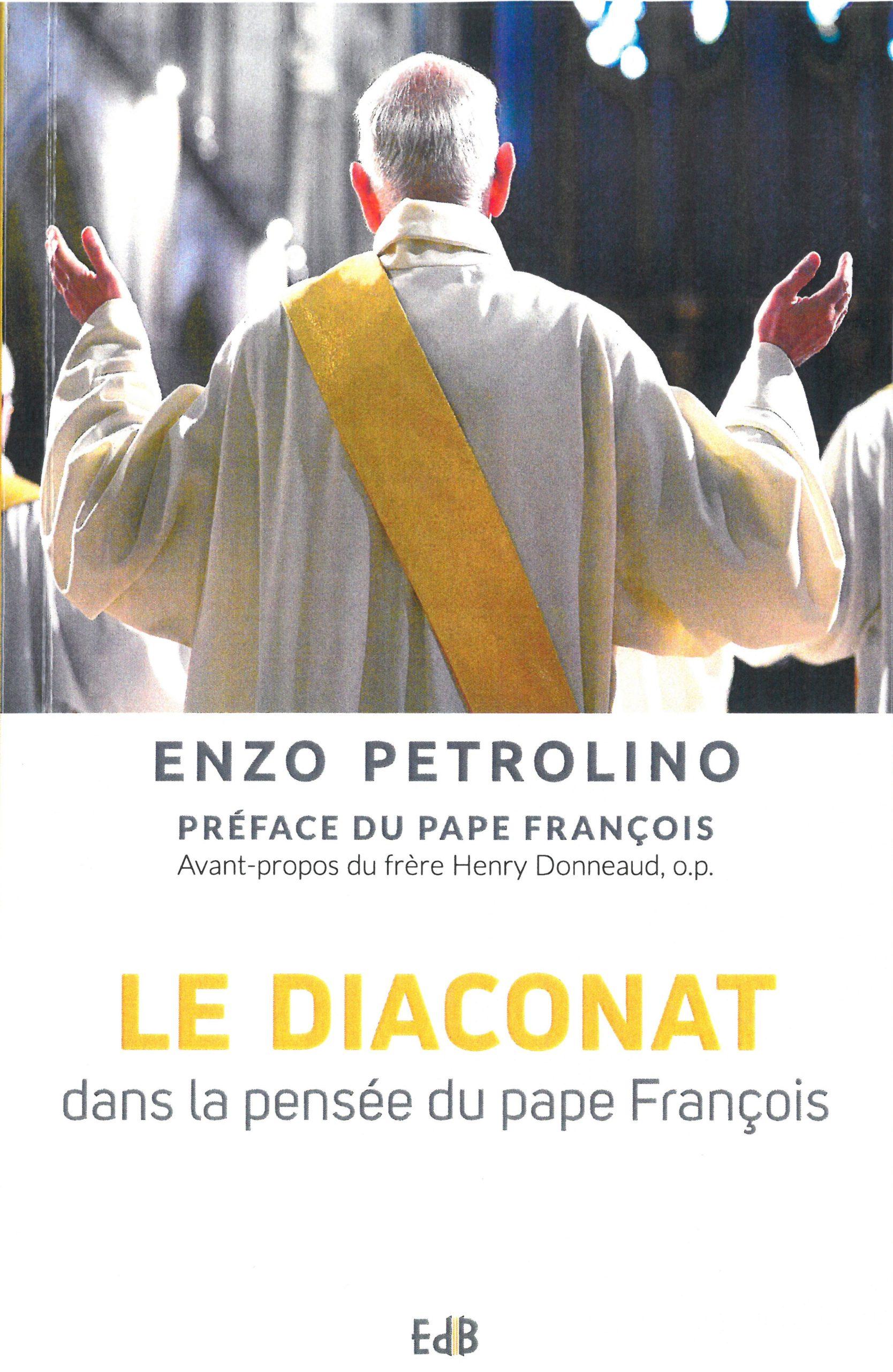 Diaconat dans la pensée du pape François Couverture du livre